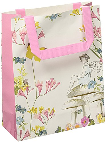 Talking Tables Truly Fairy Paper Treat Bags with Handles (16 Pack), Multicolor