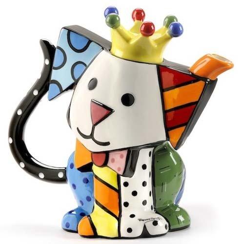 Romero Britto - Teapot Dog  Teapot by Romero Britto (Image #1)