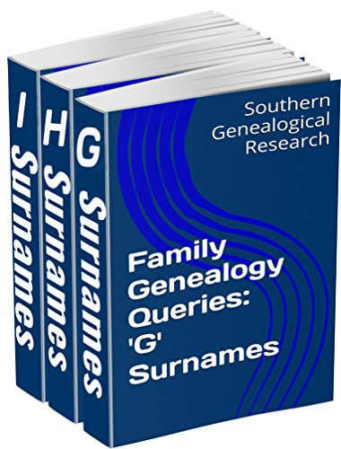 Family Genealogy Queries 3-Book Bundle: 'G' 'H' 'I' for sale  Delivered anywhere in USA
