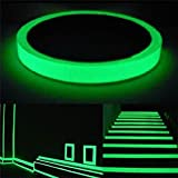 QZT Luminous Tape Self-Adhesive Photoluminescent Night Vision Glow In Dark Wall Sticker Safety Warning Security Stage Decoration 20mmX3m