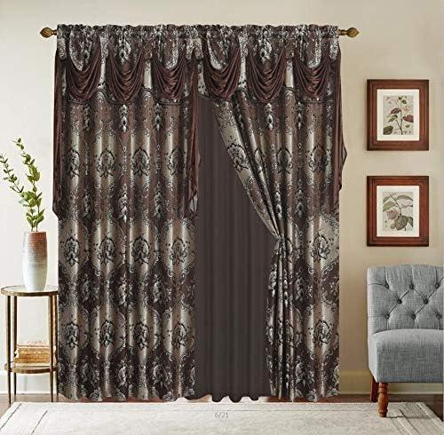 Bedding Haus Window Drape Set - a good cheap window curtain panel