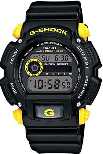 Casio Reloj Digital para Hombre de Cuarzo con Correa en Plástico DW-9052-1C9ER: Amazon.es: Relojes