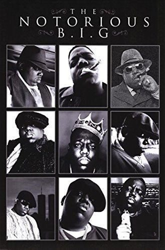 Notorious BIG - Collage Poster Drucken (60,96 x 91,44 cm)
