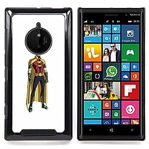 - Superhero Robin Mask Cartoon Comics Figure - - Snap-On Rugged Hard Cover Case Funny HouseFOR Nokia Lumia 830