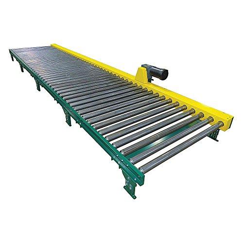 Ashland-Conveyor-CDLR16F10S05-51EW-CN51A3-30-Roller-Conveyor-58-inW-3-Legs-Per-Unit