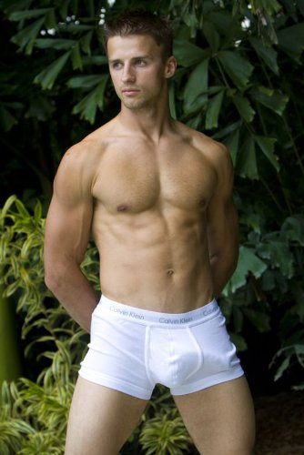 Suggest gay hunks in trunks