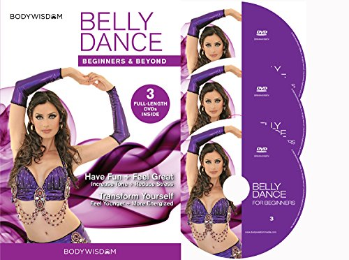 Belly Dance for Beginners DVD Deluxe Video Set: Learn to Belly Dance with Easy to Follow, Fun, Sensual Lessons