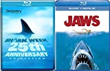 Jaws Blu Ray + Shark Week: 25th Anniversary TV Series Blu Ray Bundle set Movie