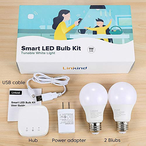Linkind LED Zigbee Smart Bulb Starter Kit,