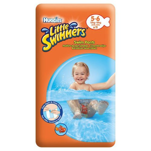 Huggies Little Swimmers Size 5-6 Medium 11 Swimmers