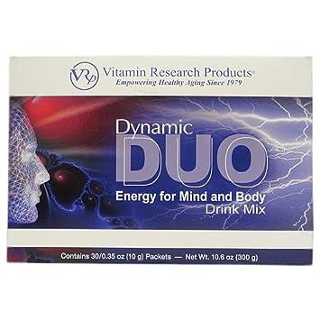 Amazon.com: Dynamic Duo – Bebida energética Mix (30 paquetes ...