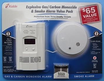 Kidde kn-coeg-3 plug-in combinación de monóxido de carbono Detector de