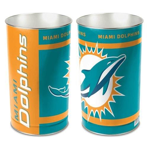 Miami Dolphins Wastebasket