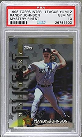 89c9e2942b Randy Johnson; Larry Walker; Ken Griffey Jr; Andres Galarraga Graded PSA 10  GEM