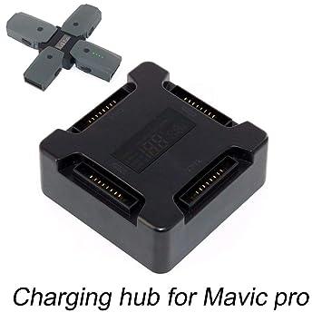 DJI OS,MO Pocket Accesorios Concentrador de carga de batería para ...
