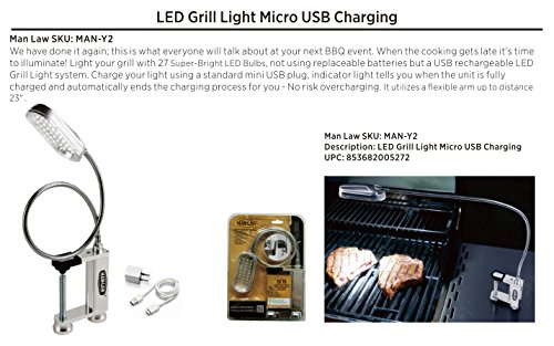 man-law-bbq-products-man-y2-illumination-series-27-led-rechargeable-grill-light-one-size-silver