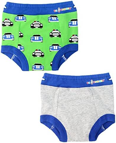 Toddler Boys Potty Training Pants with Padded Liner