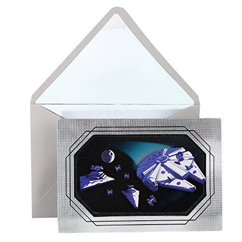 Hallmark Signature Father's Day Greeting Card (Star Wars Millennium Falcon)