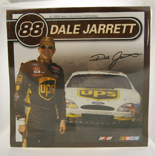 2004 - Action - NASCAR - Dale Jarrett #88 - UPS Racing - Ford Taurus - Wall Calendar - Limited Edition - Collectible