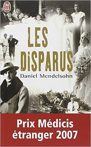 Les disparus Mendelsohn Daniel