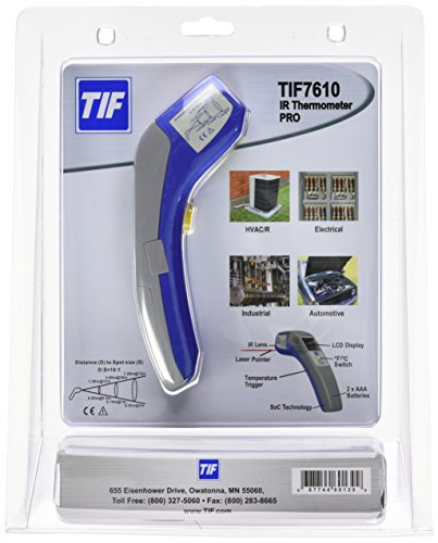 Robinair TIF7610 Infrared Thermometer PRO with 10:1 Distance To Spot Ratio by Robinair (Image #3)