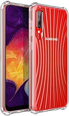 iBetter para Funda Samsung Galaxy A50 /A30S Funda, TPU con Superficie Mate Silicona Fundas para Samsung Galaxy A50/A30S Smartphone.Transparente: Amazon.es: Electrónica