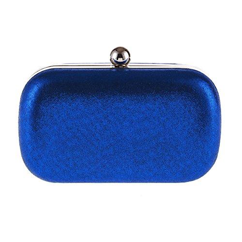 Chaine Mariage Pochette Handbag Sac Enveloppe Bleu Kigurumi de Party Soiree Epaule Soiree 78FZx66w