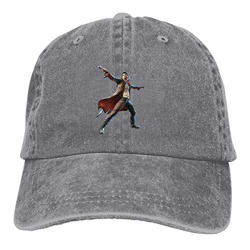 V For Vendetta Hat Type (Kinggo Design Printing Breathable Hats Devil May Cry 5 Classic Baseball Cap)