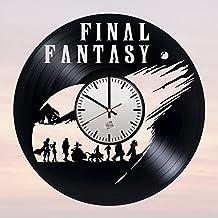 Papel Playing Video Game diseño Vinyl Record–Reloj de pared maravilloso Casa, cochera o oficina pared arte decoración–Fancy Idea de regalo para su