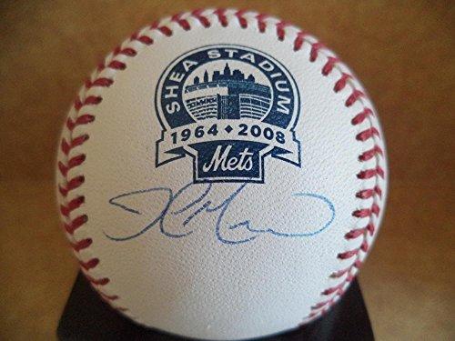 ne Shea Stadium Signed Baseball Mets Coa (Shea Stadium Baseball)