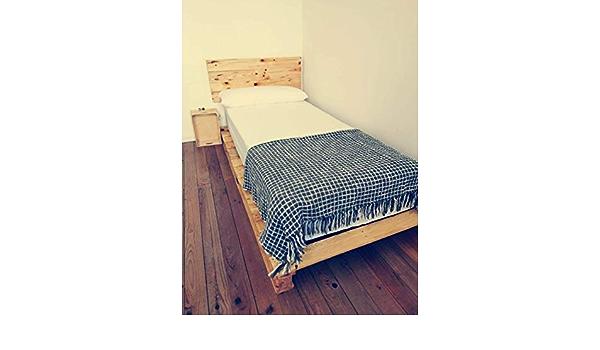 Cama palets de 90 cm- Somieres Individual de 0.90 por 180 ...