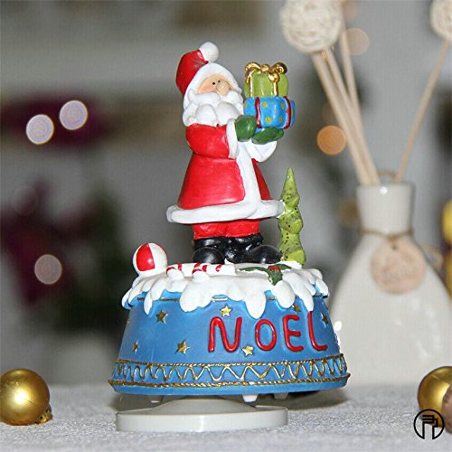 Music Claus Santa Box (Yingealy Best Gifts Music Boxes Santa Claus Music Box Distributing Gifts)