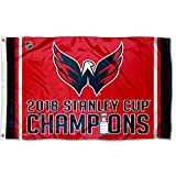 #10: WinCraft Washington Capitals 2018 Stanley Cup Champions Outdoor Flag and Banner