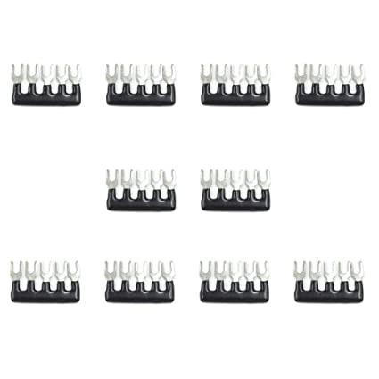 Amazon com: GooTon 5 Positions Fork Type Terminal Jumper