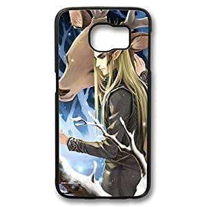 KOKOJIA Case for Samsung galaxy S6 PC, The Hobbit cartoon Stylish Durable Case for Samsung galaxy S6 PC