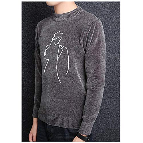 Shopping Maglia Da Easy Con Maniche Uomo Lunghe Go A Gray g5PpP1q