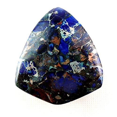 FidgetKute Wholesale Freeform Sea Sediment Jasper Pendant Bead Please Pick Stone! MDHS0RL Blue