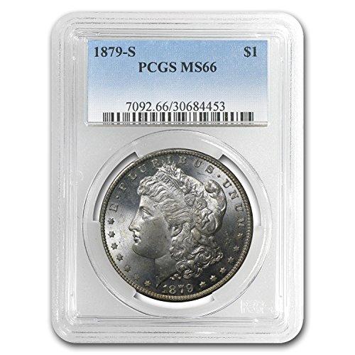 1879 S Morgan Dollar MS-66 PCGS $1 MS-66 PCGS