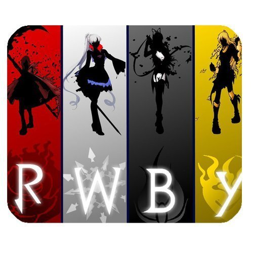 Custom Gaming Mouse Pad (220mm*180mm*3mm), RWBY by ArtsDeisgns Mousepads