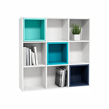 scroll rustic west c industrial next item modular to bookshelf elm turquoise products
