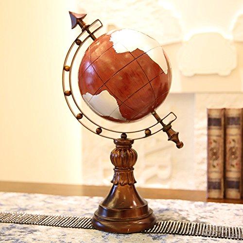 KTYXDE European American Model Room Study Bookcase Globe Ornaments Crafts Ornaments from KTYXDE