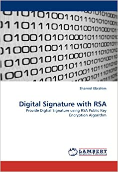 Book Digital Signature with RSA