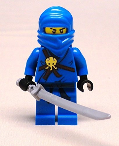 DEAL OF THE DAY!!! DO NOT MISS OUT!NEW Lego JAY NINJAGO Minifig w/ Sword BRAND NEW blue ninja 2263 2506 2259 (Minifig Set)