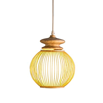 MXYXN Lámparas de bambú Creativas, Restaurante Personalizado ...