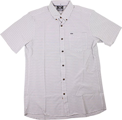 L/s Woven Top (Hurley Alchemy Woven L/S Button Up Cool Grey Mens L)