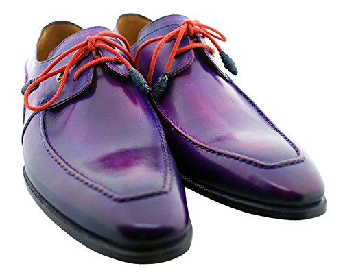 Oscar William Purple Temple Men's Luxury Classic Leather Handmade Leather Classic Shoes B072PRBLZL Shoes 367354
