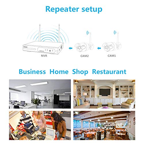 Full Hd Best Wireless Security Camera System Isotect