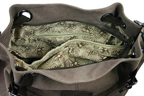 Bag Sac À Porter Pour Street L'épaule Femme Marron xxnrO