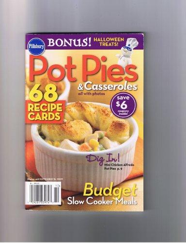 Pot Recipe Card - Pot Pies and Casseroles (68 Recipe Cards)