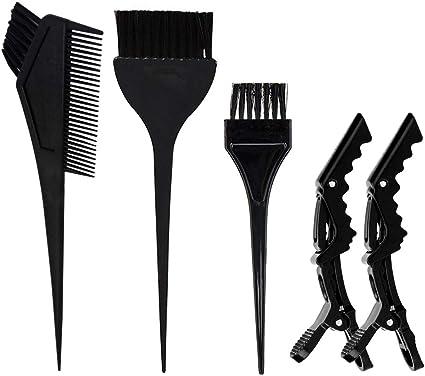 Skystuff - Juego de 5 brochas para teñir el cabello